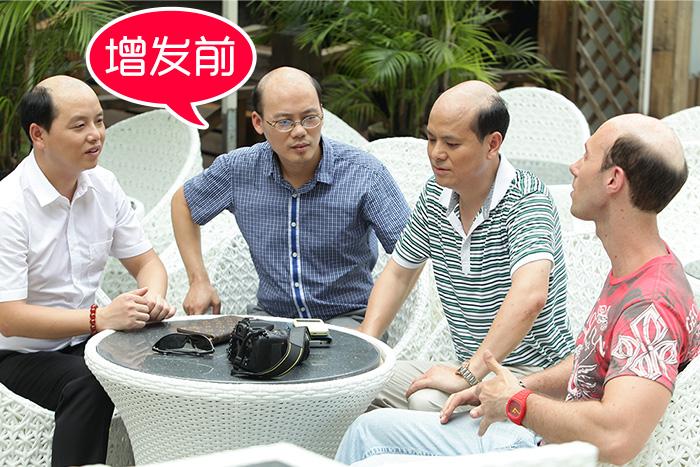 惠州假发专卖店哪家好?爸爸戴着假发去参加毕业典礼!