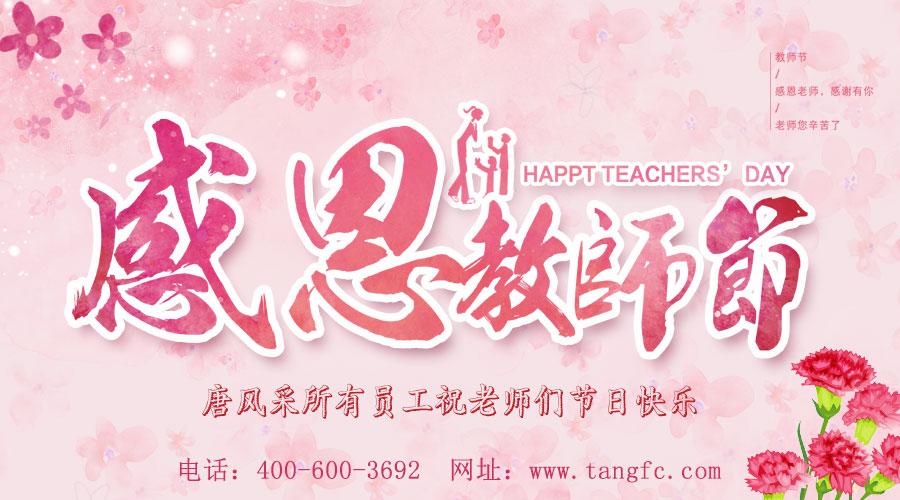 感念师恩,唐风采增发向老师们致敬:祝教师节快乐