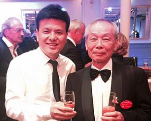 唐风采创始人和发型设计家协会亚洲会长合影