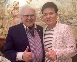唐总与世界顶级美发组织OMC主席