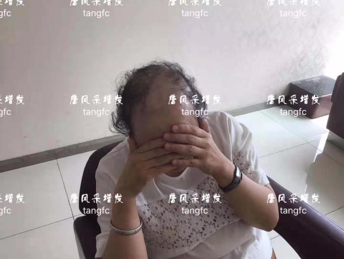 中老年女式假发
