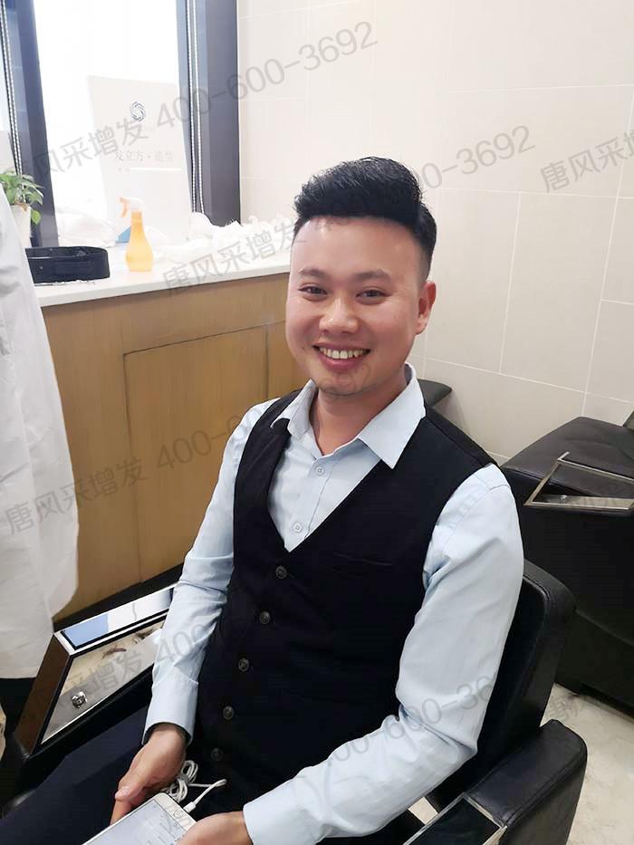 男士假发大背头是流行发型之一