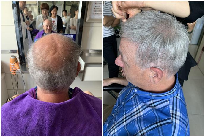 定制假发可以做成符合实际年龄的老人发